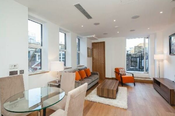 Lounge, Ludgate Broadway Serviced Apartments, London