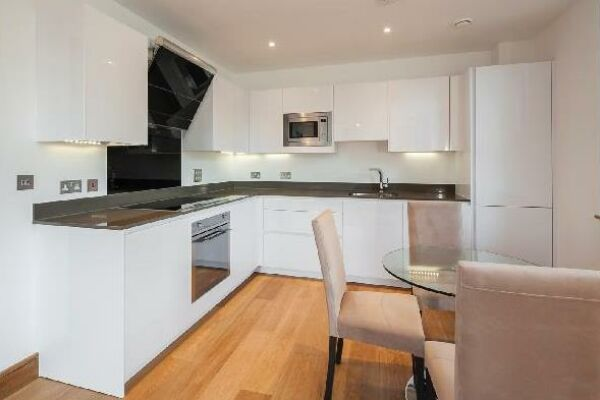 Kitchen, Ludgate Broadway Serviced Apartments, London
