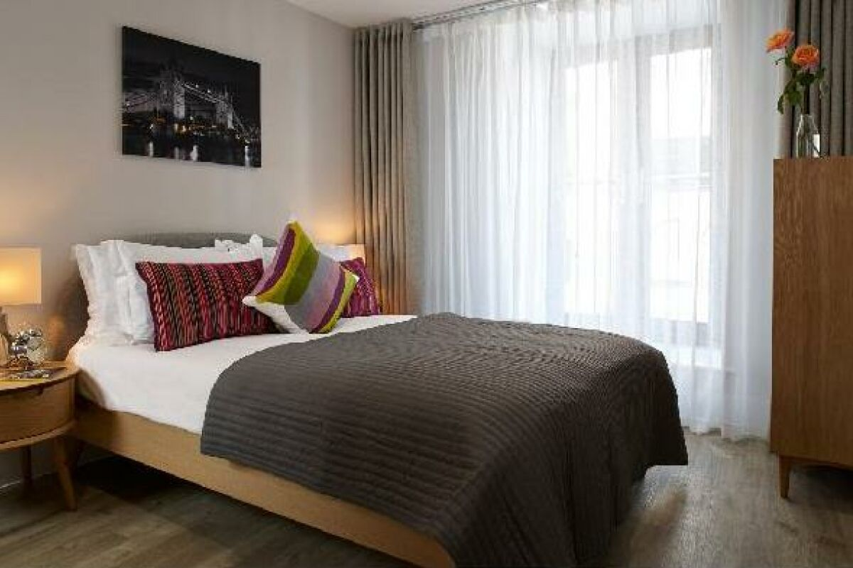 Bedroom, Great Tower Street Serviced Apartments, London
