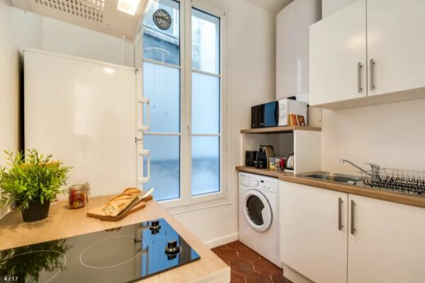 Kitchen, Saint Germain Serviced Apartments, Paris