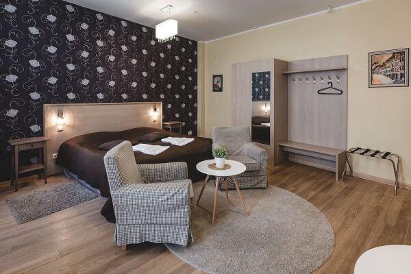 Living area, Ernesta Serviced Apartments, Serviced Accommodation Riga, Latvia