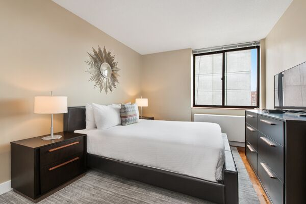Bedroom, Sagamore Serviced Apartments, New York