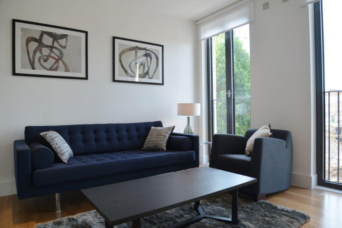 Living Area, Portobello Road Serviced Apartments, London