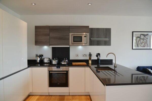 Kitchen, Portobello Road Serviced Apartments, London