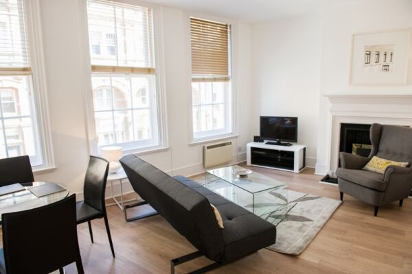 Living Room, West End One Serviced Apartments, London