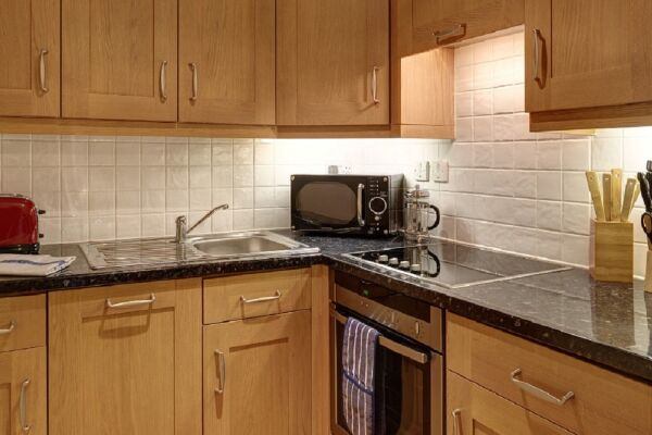 Kitchen, Leicester Square Serviced Apartments, Leicester Square, London