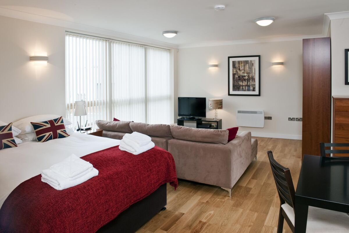 Studio, Byron House Serviced Apartments, Cambridge