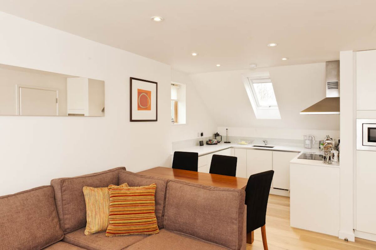 Living Area, Cambridge Place Serviced Apartments, Cambridge