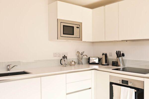 Kitchen, Cambridge Place Serviced Apartments, Cambridge