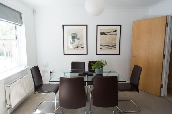 Dining Area, Nelson Court Serviced Apartments, Cambridge