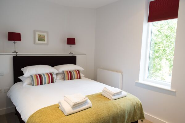 Bedroom, Jubilee House Serviced Apartments, Cambridge