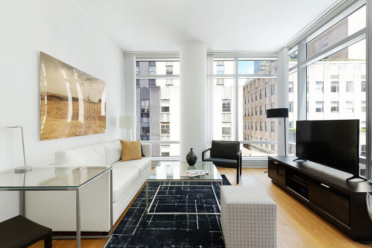 Living Room, The Centria Apartments, New York