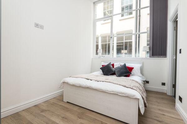 Bedroom, Liverpool Serviced Apartments, Liverpool