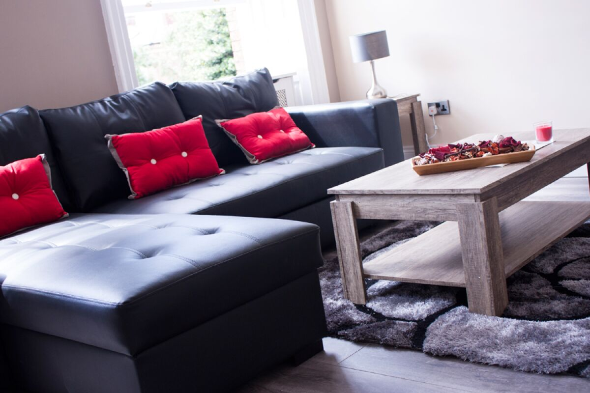 Living Area, St Johns North Serviced Apartments, Wakefield