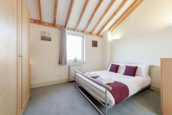 Bedroom, Cramer House Serviced Apartment, Marylebone, London