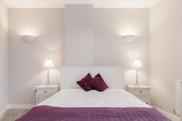 Bedroom, Vertex House Serviced Apartments, Croydon, London