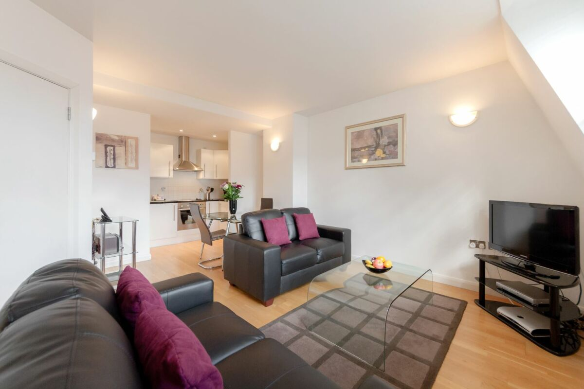 Living Area, Groveland Court Serviced Apartments, The City of London