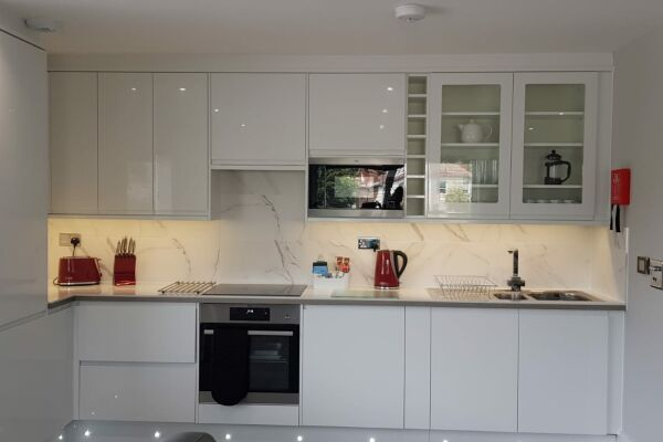 Kitchen, The Legacy Serviced Apartments, Hove