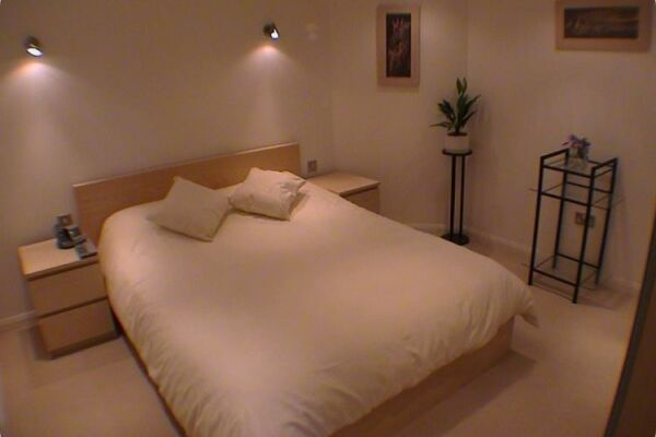 Bedroom, Earle House Serviced Apartments, Crewe
