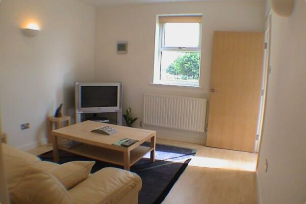 Living Area, Earle House Serviced Apartments, Crewe