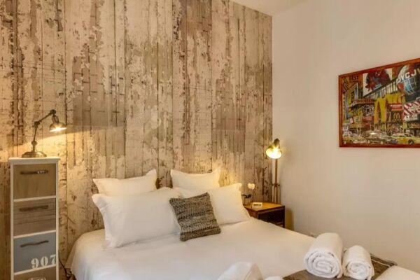 Bedroom, Cygne Serviced Apartment, Paris