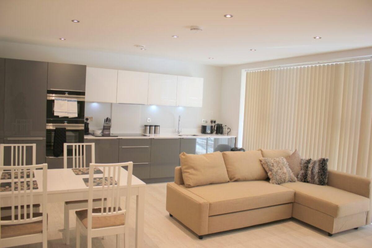 Living Area, The Station Suite, Cambridge