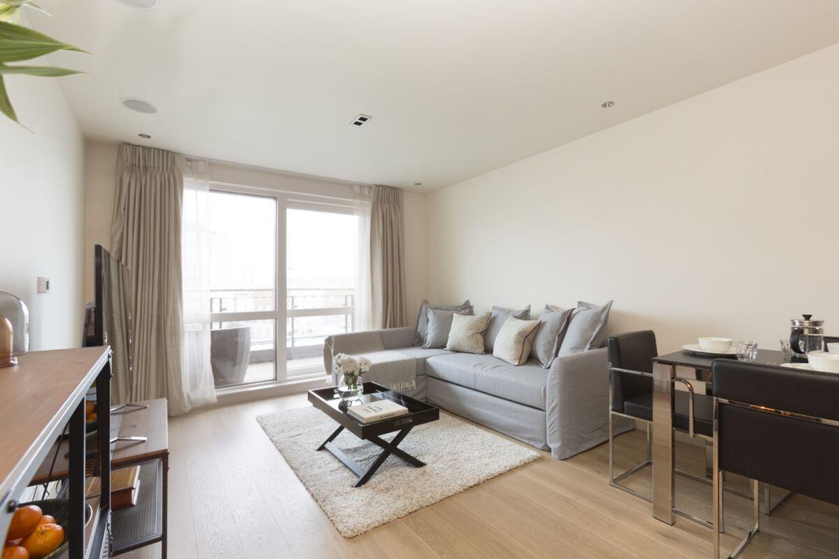 Living Area, Chelsea Creek Serviced Apartments, Chelsea
