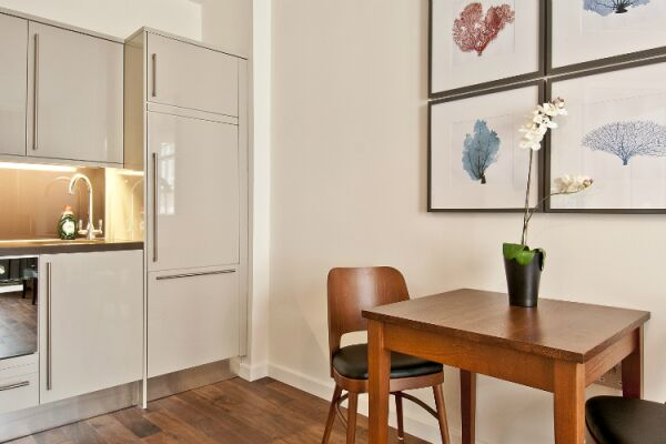 Kitchen, Monument Street Serviced Apartments, The City of London