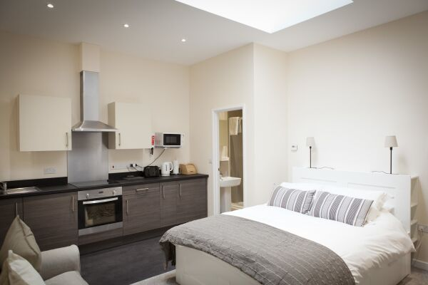 Studio, St. Edmund House Serviced Apartments, Ipswich
