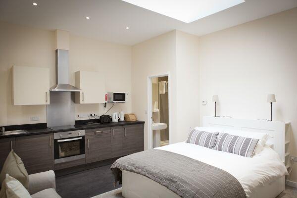 Studio, St. Edmund House Serviced Apartments, Ipswich