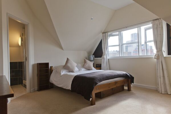 Bedroom, Curzon Street Serviced Apartments, Ipswich