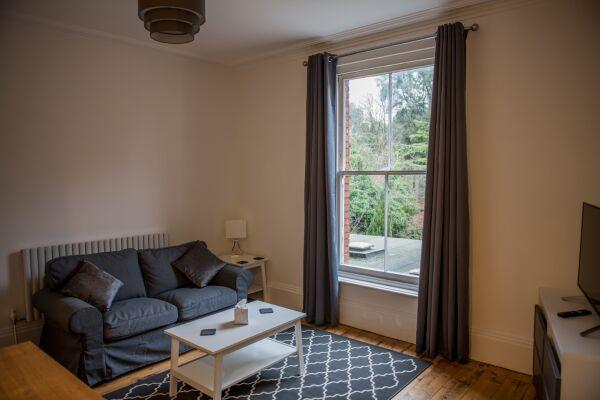 Living Area, Fonnereau Road Serviced Apartment, Ipswich