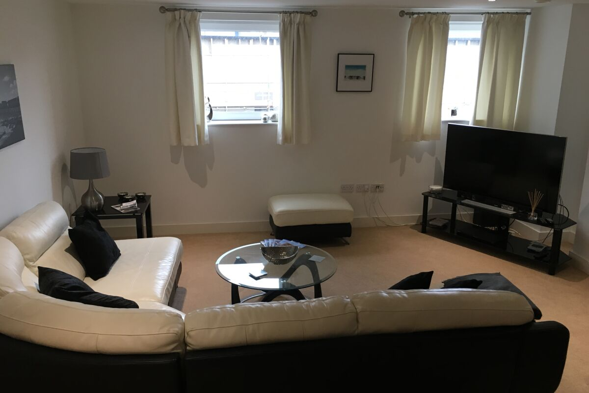 Living area, The Cambria Serviced Apartment, Ipswich