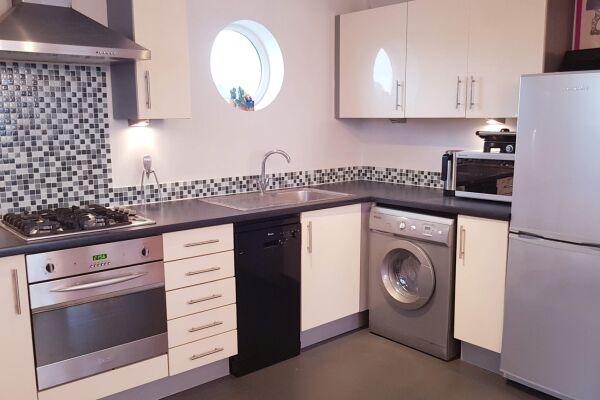 Kitchen, Fore Hamlet Serviced Apartment, Ipswich