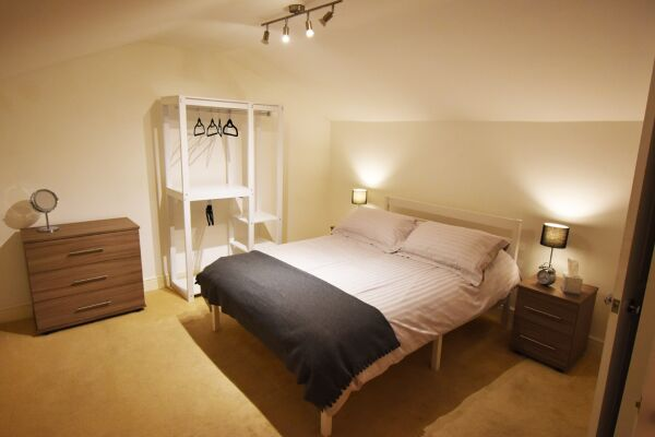 Bedroom, The North Gate Serviced Apartment, Ipswich