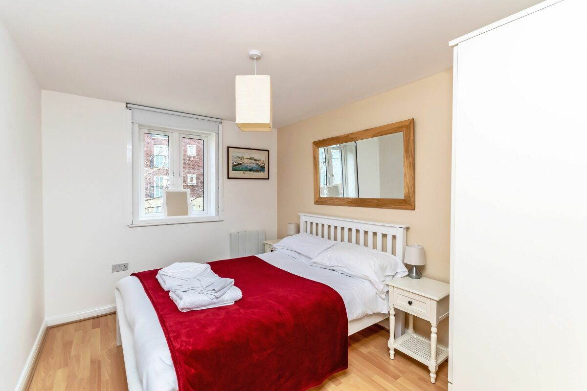 Master Bedroom, Saddlery Serviced Apartment, Chester