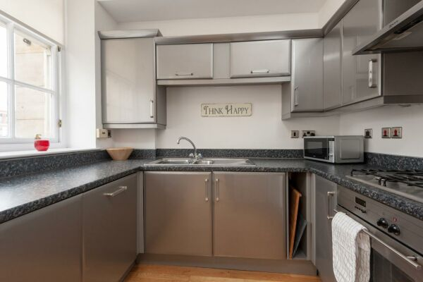 Kitchen, College Street Serviced Apartment, Glasgow