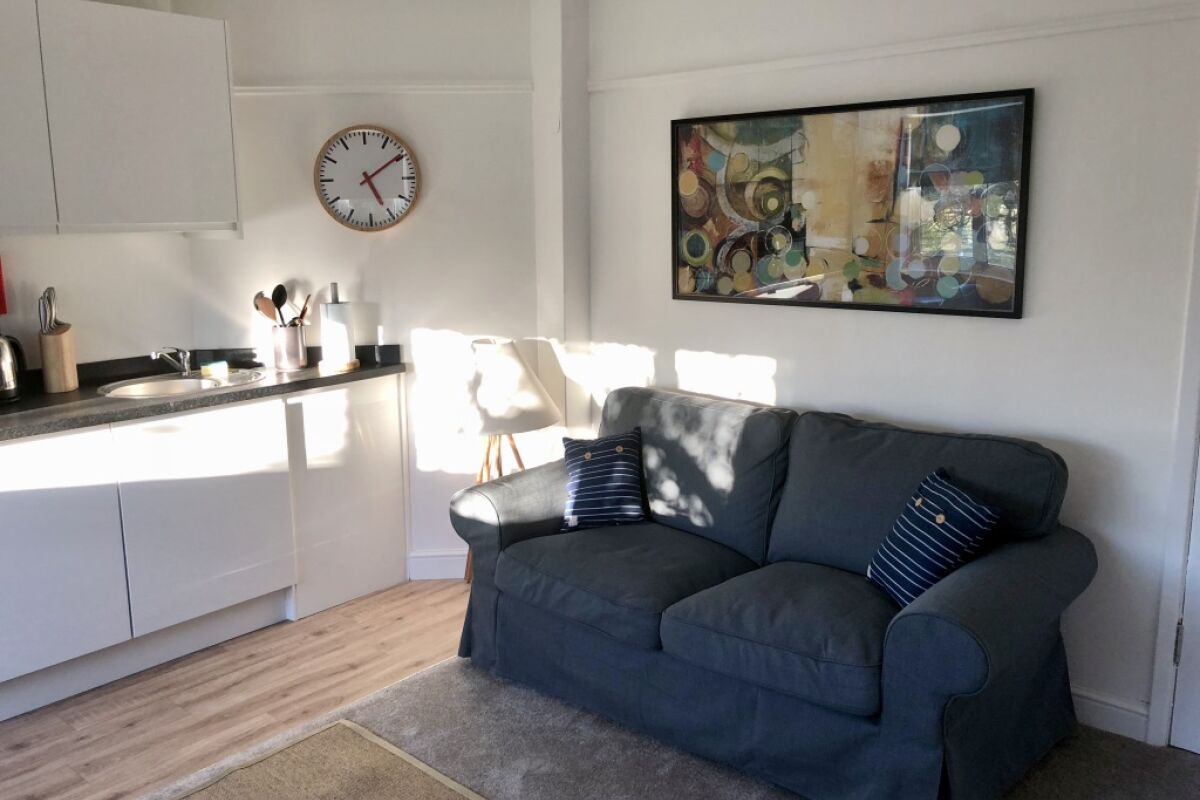 Living Area, Ashbrook Harwell Serviced Apartments, Oxford
