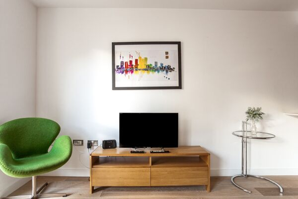 Living Area, Shoreditch Square Serviced Apartments, Shoreditch, The City of London