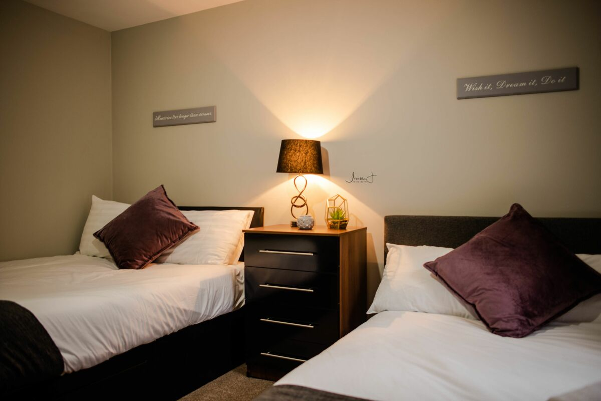 Bedroom, York Street Serviced Apartments, Liverpool