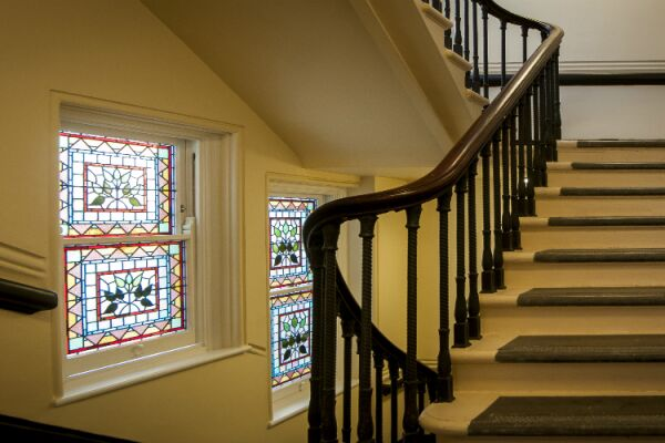 Stairwell, Garrick Mansions Serviced Apartments, Covent Garden, London