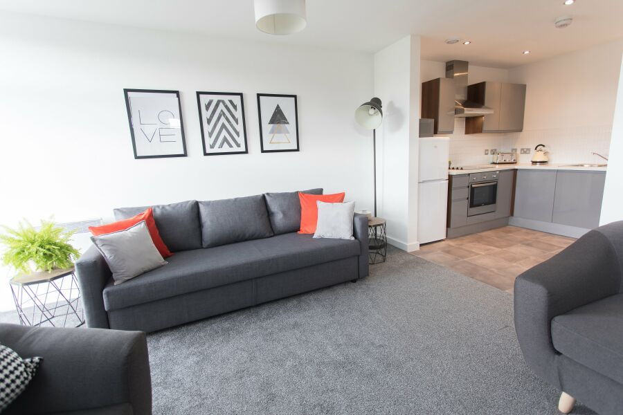 Bridge Square Apartments - Lancaster, Lancashire