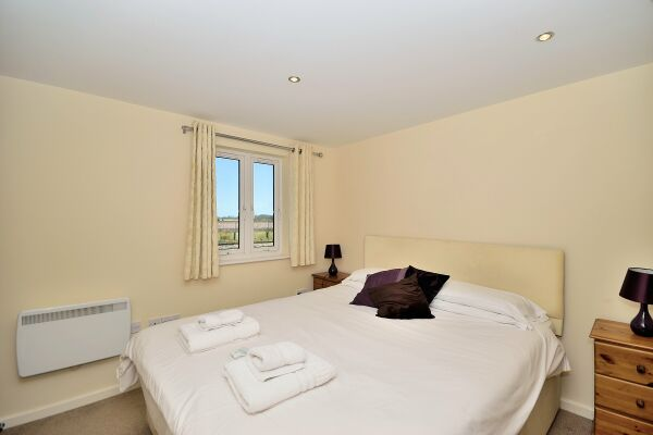 Bedroom, Saddlery Way Serviced Apartment, Chester