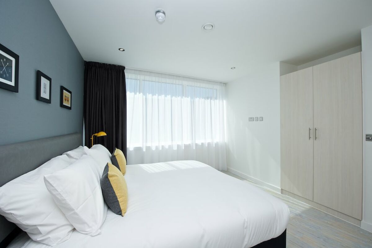 Bedroom, Piccadilly House Serviced Apartments, Manchester
