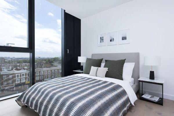 Bedroom, Highgate Serviced Apartment, London