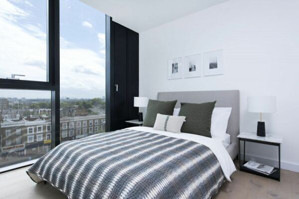 Bedroom, Highgate Serviced Apartment, London