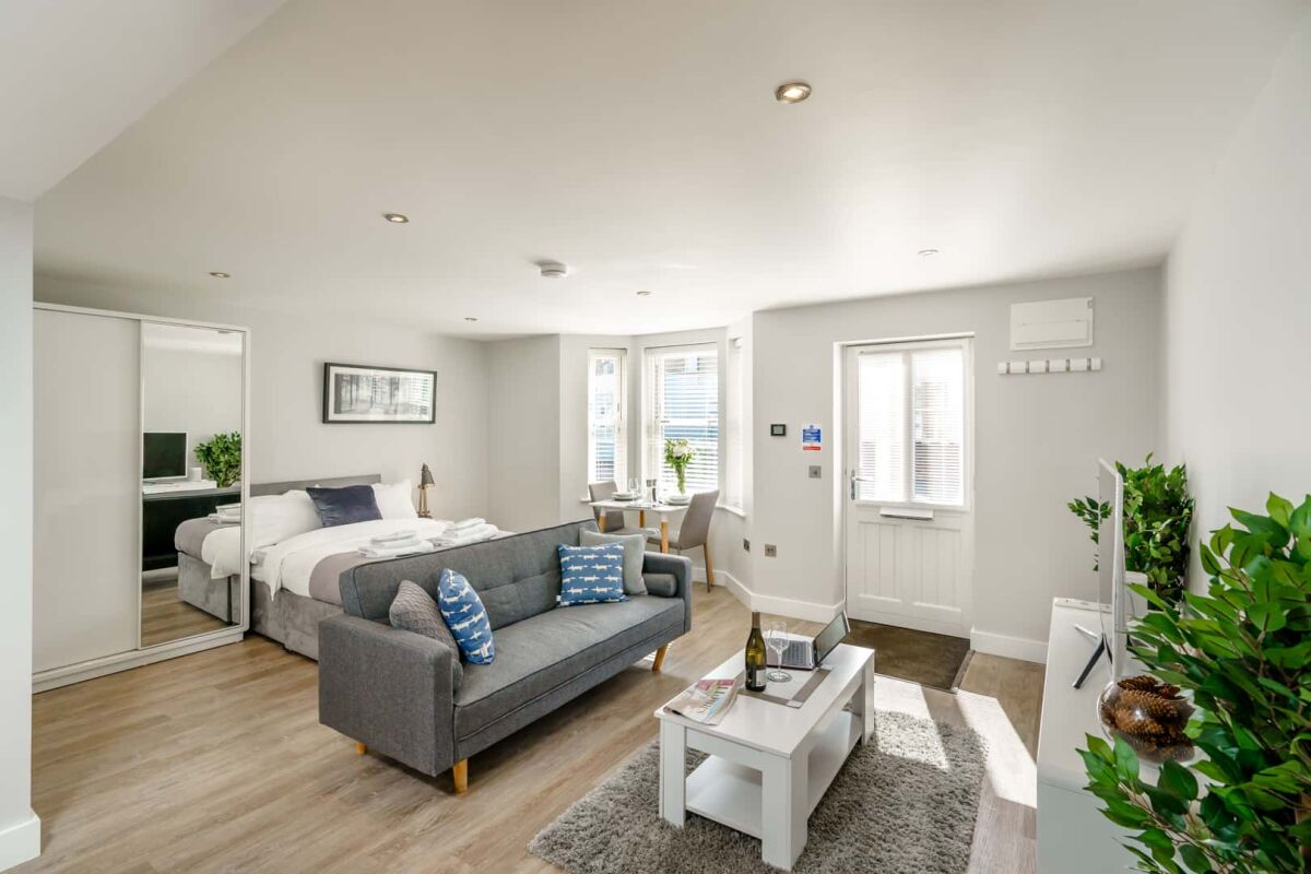 Studio, Victoria Road Serviced Apartments, Cambridge