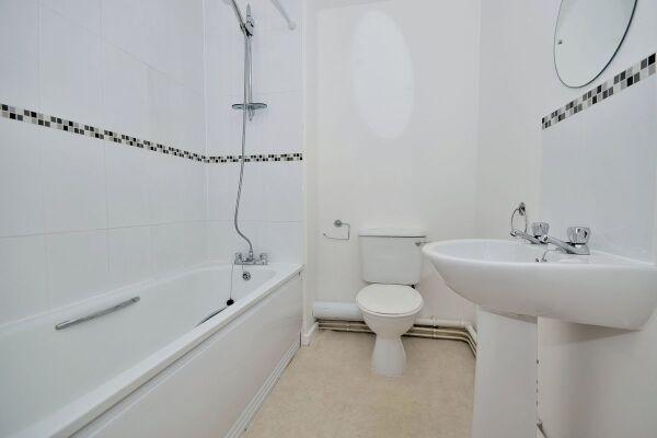 Bathroom, The Racecourse 7 Serviced Apartment, Chester
