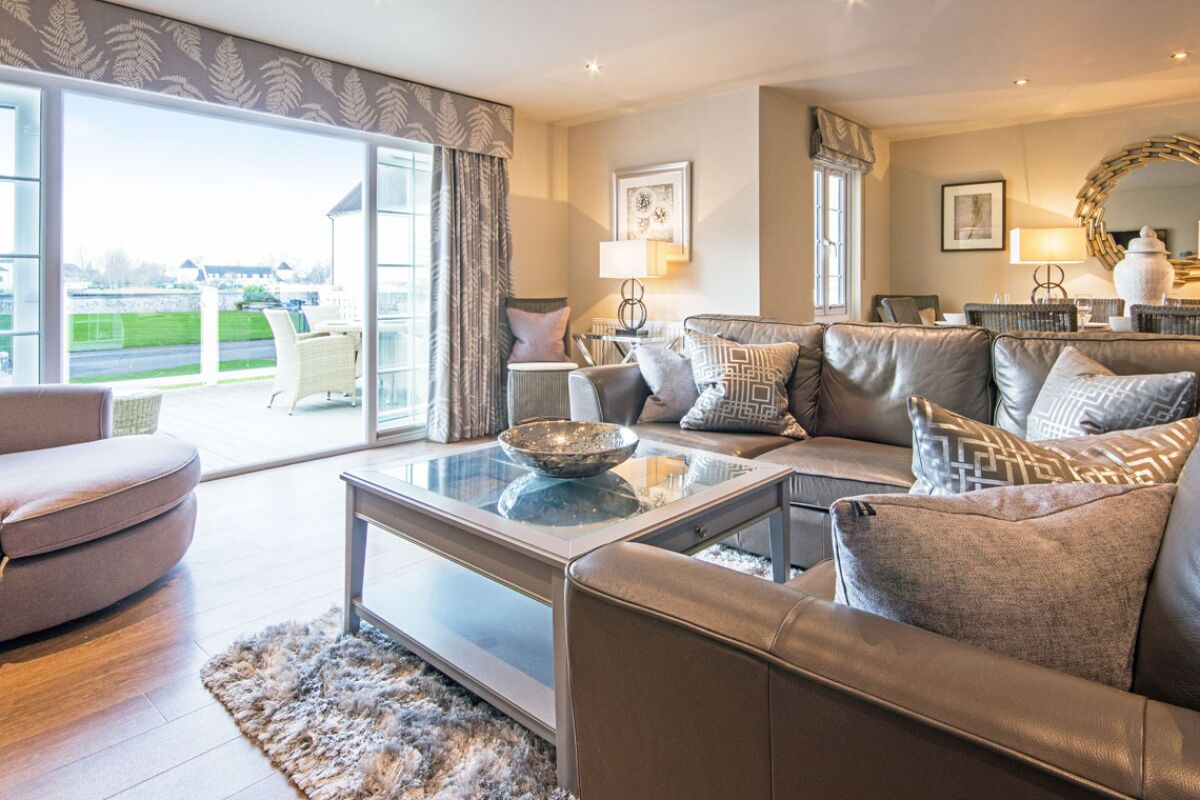 Living Area, Windrush Lake Serviced Accommodation, Cirencester
