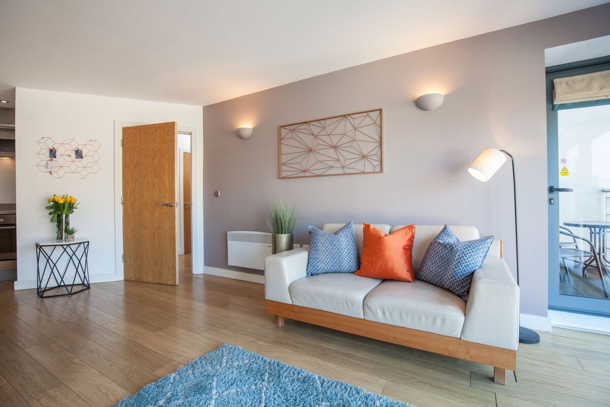 Waterloo Court Serviced Apartments in Leeds, Living Area